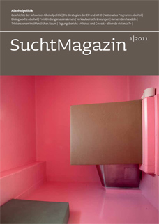Cover Suchtmagazin Nr. 1 | 2011