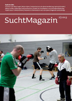 Cover Suchtmagazin Nr. 2|2013