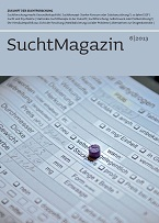 Cover Suchtmagazin Nr. 6|2013