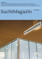 Cover Suchtmagazin Nr. 5|2016