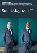 Cover Suchtmagazin Nr. 1|2018